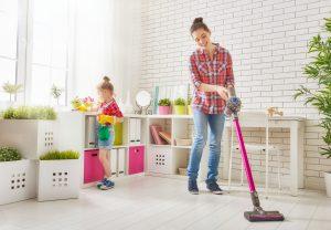 úklid v domácnosti