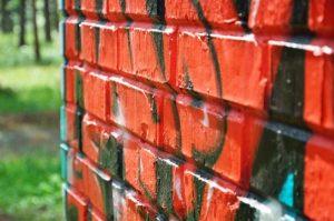 Zídka od graffiti - odstranění