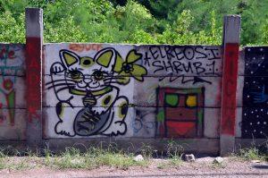 Speciální čistící prostředky na graffiti