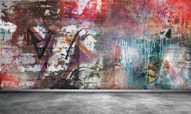 Věčný koloběh s graffiti, navždy se jich zbavíte antigraffitovým nátěrem