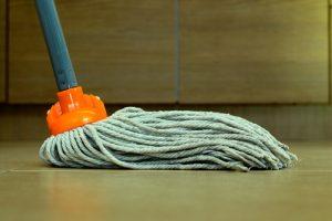 strojní čištění podlah