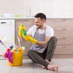 vyčištění podlahy od inkoustu