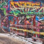 Graffiti na domě