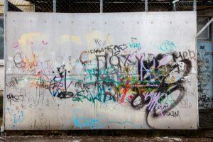 nevzhledné zdi, anti graffiti nátěr