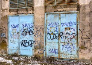 čištění pomalovaných stěn