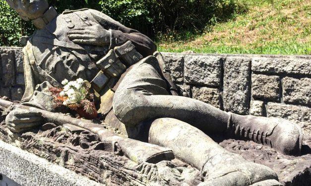 Co je vončo akdo vytvořil znepokojivý pomník