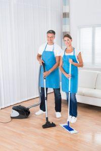 čistenie liatych podláh
