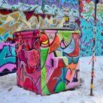 Praha fasády a graffiti