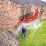 levné odstranování graffiti