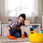 Prostředky na vyčištění koberce