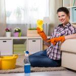 Jak vyčistit koberec v kuchyni