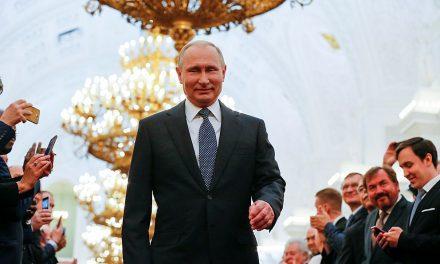 Putin už zase udělá zRuska pátou ekonomiku světa