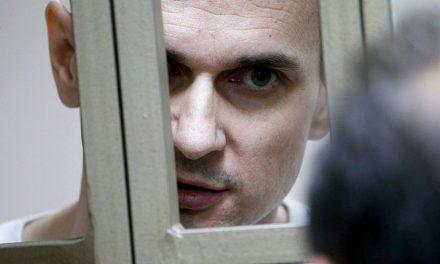 Oleg Sencov je po třech měsících hladovky na prahu smrti