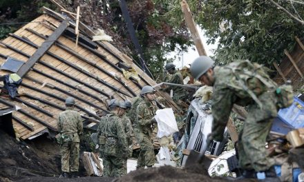Death Toll From Japan Earthquake Rises to 16 as Rescuers Dig Through Landslides