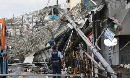 Eleven Dead as Typhoon Jebi Batters the West Coast of Japan