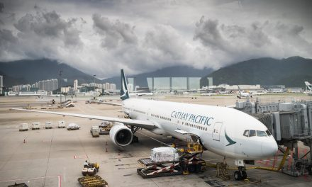 Something Amiss? Cathay Pacific Misspelled Its Own Name on the Side of an Airplane