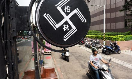 A Taiwanese Hair Salon Has Covered Its Swastika Signage After Its Storefront Was Defaced