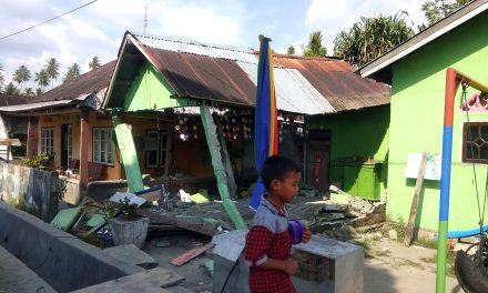 Powerful Tsunami Sweeps Away Houses in Indonesia After Earthquakes Shake Island