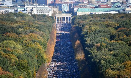 Tens of Thousands Protest Racism and Discrimination in Berlin