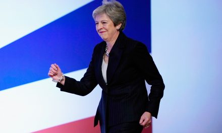 British Prime Minister Theresa May Just Danced to ABBA and People Don't Know What Is Happening Anymore