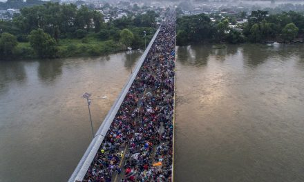 Caravan Shrinks as Migrants Attempt to Make Their Way Across the Mexico-Guatemala Border