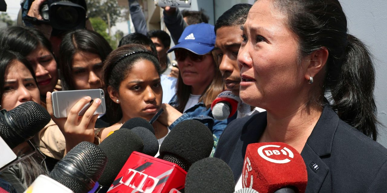 Peru's Opposition Leader Has Been Detained in Connection with a Campaign Finance Probe