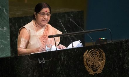 India's Foreign Minister Accuses Pakistan of Harboring Terrorists