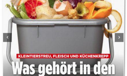 Wenn Bild.de (über) Müll schreibt