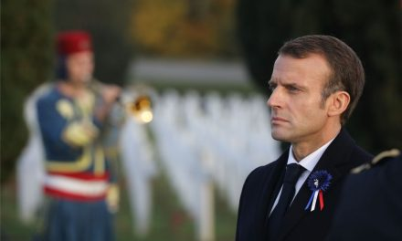 French President Emmanuel Macron Calls for a 'European Army' to Defend Against China, Russia and the U.S.