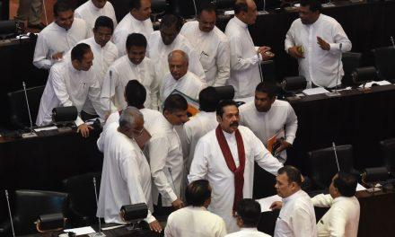 Sri Lankan Lawmakers Walk out in Support of Former Strongman Mahinda Rajapaksa