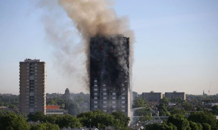 London Police Have Arrested Five Men Over Video of a Grenfell Tower Model Being Burned