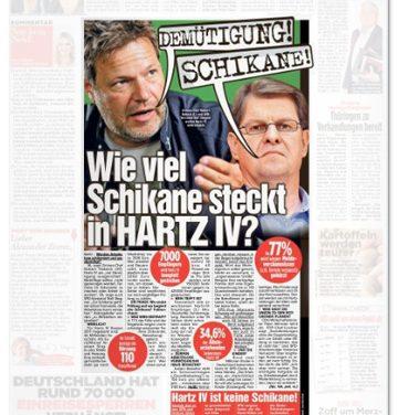 """""""Bild"""" spaltet mit Hartz-IV-Vergleich"""
