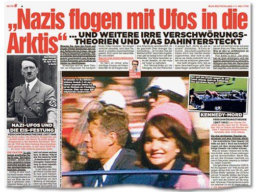 Irrflug mit Hitler-Ufo