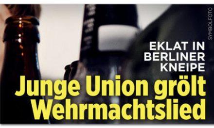 """""""Bild am Sonntag"""" lässt Wehrmachtslied grölen"""