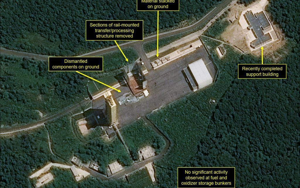 North Korea Is Operating at Least 13 Secret Missile Sites, Satellite Images Show