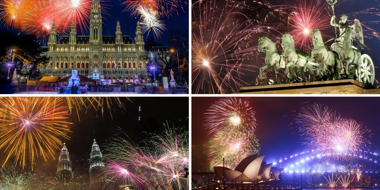 How to Watch New Year's Eve Fireworks From Around the World Online for Free