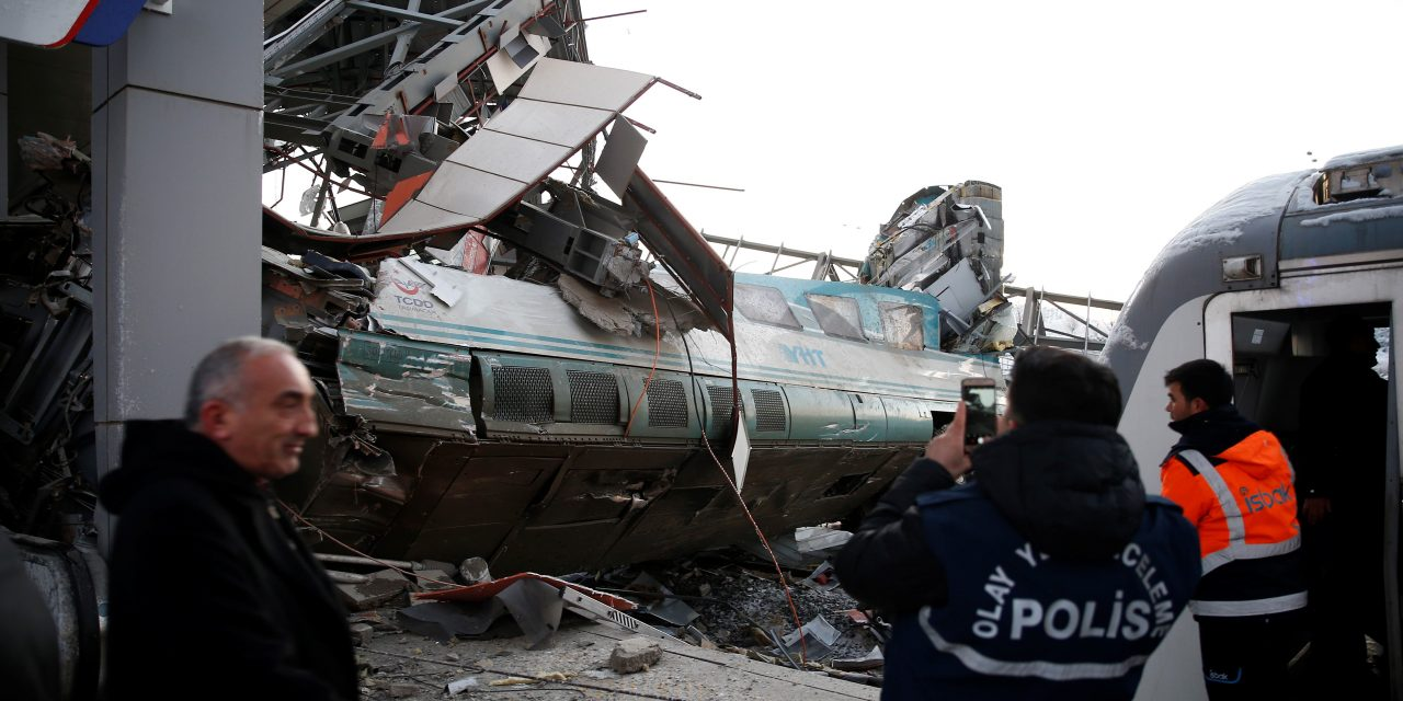 A High-Speed Train Crash in the Turkish Capital Has Killed 9 and Injured Dozens