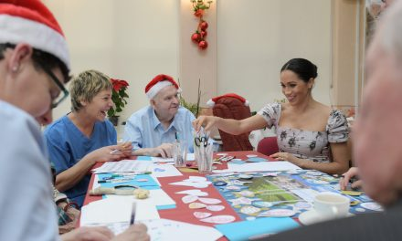 Oh Come Let Us Enjoy Meghan Markle Doing Arts and Crafts at This Festive Christmas Gathering