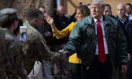 President Trump Makes Surprise Visit to Combat Zone for the First Time Following Syria Withdrawal