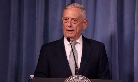 Defense Secretary Mattis Accuses Russian President Putin of Trying to 'Subvert Democratic Processes'