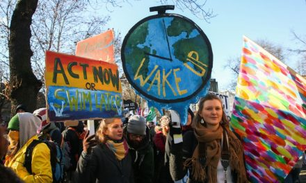 Thousands March for Action on Global Warming at United Nations Climate Talks