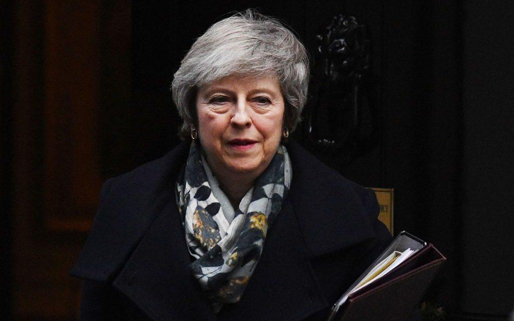 U.K. Prime Minister Theresa May Says Postponed Brexit Vote Will Be Held the Week of Jan. 14