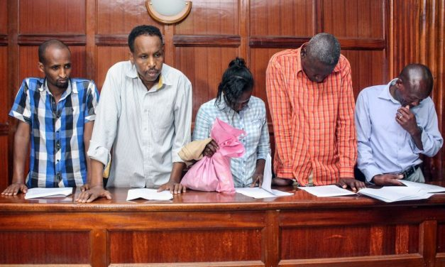 6 Suspects Appeared in Kenyan Court for Helping in Nairobi Attack
