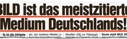 """Das """"meistzitierte Medium Deutschlands"""" zitiert nicht"""