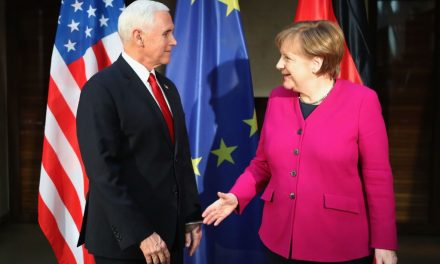 Chancellor Merkel Defends the Iran Nuclear Deal as Vice President Pence Admonishes U.S. European Partners