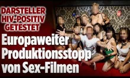Bild.de berichtet über positiven HIV-Test eines Pornodarstellers