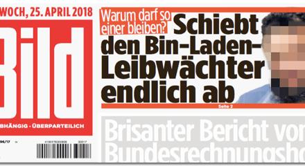 """Die differenzierte Abschiebe-Debatte in """"Bild"""" – wenn es um Deutsche geht"""