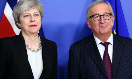 U.K. Prime Minister Theresa May and E.U. Chief Conclude 'Constructive' Talks on Brexit