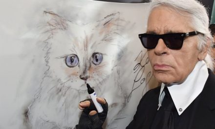 Karl Lagerfeld's Beloved Cat Has a Heartfelt Tribute to Her 'Daddy'