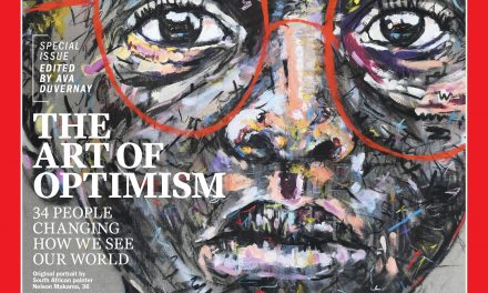The Story Behind the Painting on TIME's Optimists Cover